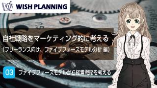 03 ファイブフォースモデルから経営戦略を考える 編