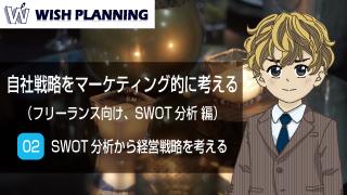 02 SWOT分析から経営戦略を考える 編