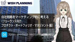 04 プロダクト・ポートフォリオ・マネジメントから経営戦略を考える