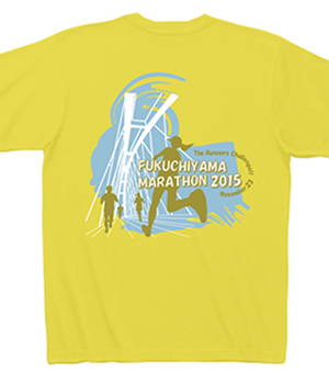 福知山マラソン大会オフィシャルTシャツ
